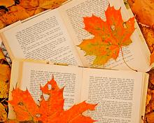 Книги для чтения осенью